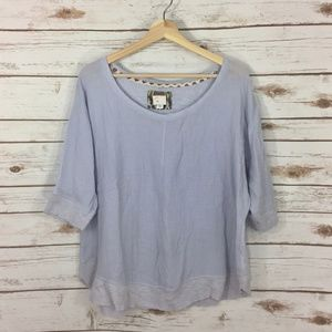 [Postmark] Anthropologie Boxy Top Size Large *read